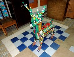 Knex Reindeer by Mel Sipolo