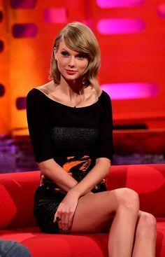 Taylor appears on the Graham Norton Show - 2014
