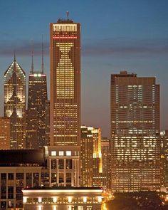 Chicago loves the Hawks! #Blackhawks #Hockey #NHL