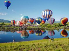 This summer, grab your friends and make plans to take in this colorful hot air balloon festival.