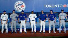 Toronto Blue Jays New Uniforms Blue Jays Game, Mlb Uniforms, Sports Fanatics, Toronto Blue Jays, Dream Team, Boston Red Sox, My Boys, Baseball Cards, Toronto Maple