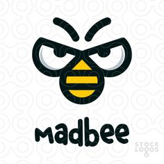 SOLD !!!!  Madbee logo by paint.box