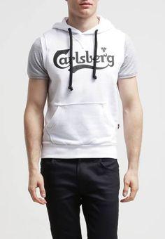52e9ea3c3a142 Carlsberg Sudadera Bianco ropa jerseis y sudaderas hombre Sudadera  Carlsberg Bianco Noe.Moda