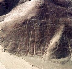 Spaceman, Nazca Peru