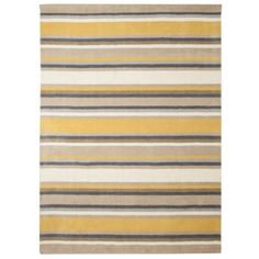 Threshold™ Stripe Area Rug - Gray/Yellow  Want this sooooo....bad for the family room.  Perfect match to the couch walls and accent pillows.