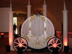 building a castle prop   Party Pros - Cinderella's Carriage