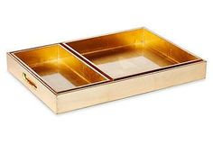 Storage doesn't have to be boring, and these trays prove it.