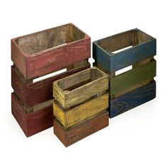 3 Piece Midway Crate Set