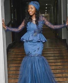 Stunning Shweshwe Dresses 2019 for African Girls - Reny styles Stunning Shweshwe Dresses The Shweshwe Dresses is abundant admired in this allotment of the world, I beggarly it is the best bolt and I apperceive South African Dresses, African Maxi Dresses, African Wedding Dress, African Dresses For Women, African Attire, African Outfits, African Men, African Beauty, Setswana Traditional Dresses