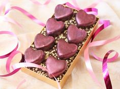 Do-It-Yourself Cherry-Chocolate Heart Truffles for Valentine's Day