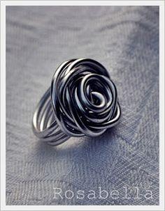 Draht S-Knoten-Ring - Custom Sie die Farbe wählen Made | Knoten ...