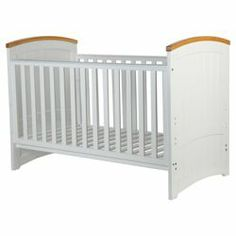 Buy Tutti Bambini Barcelona Cot Bed, White & Natural from our Cot Beds range - Tesco.com