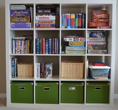 Cleaning & Organizing - A Pretty Life In The Suburbs Organisation Hacks, Board Game Organization, Board Game Storage, Kitchen Organization, Organizing Toys, Organising, Board Games, Ikea Storage, Toy Storage