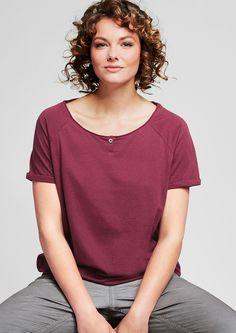 O-Shape-Shirt aus Jersey kaufen   s.Oliver Shop
