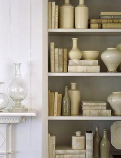 Bookcase Decor Styling | S.R. Gambrel.