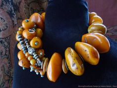 I'd do serious harm to someone for this necklace - Amber! Amber Necklace, Amber Jewelry, Tribal Jewelry, Turquoise Jewelry, Statement Jewelry, Jewelry Art, Beaded Jewelry, Handmade Jewelry, Jewelry Design