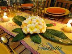 centrotavola con limoni candele -francipane Cerca con Google