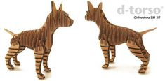 D Torso Chihuahua papercraft kit - Paper craft is a popular fixation recently in Japan and the Chihuahua Kit from D-Torso is easily one of our favorites. The kit includes everything you need to create the desk friendly companion pictured above—absolutely no cutting or sticky gluing involved. D-Torso models follow a ...
