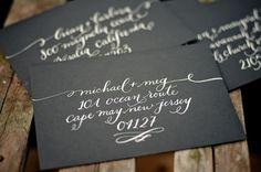 calligraphy!