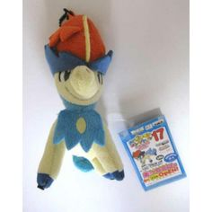 Pokemon 2012 Banpresto UFO Game Catcher Prize My Pokemon Collection Series Keldeo Plush Keychain