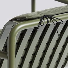 Hay Palissade Quilted cushion for high lounge chair high, olive High Lounge, Designer Français, Hay Design, Aesthetic Design, Galvanized Steel, Architecture, Contemporary Furniture, Bar Stools, Dining Bench