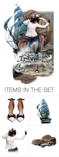 """Read, Relax, Travel... A Simple Life"" by necyluv ❤ liked on Polyvore featuring art"
