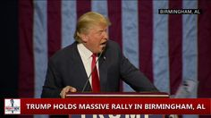 Donald Trump Tells Black Lives Matter Protester To Get The Hell Out (Bir...