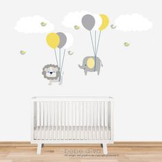 Wall Decals Nursery Nursery Wall Decal Baby by BebeDivaBoutique