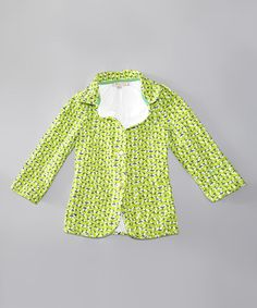 Green Tree Jacket - Toddler & Girls #zulily #zulilyfinds