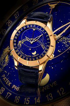 Patek Philippe : Unique Sky Moon Celestial Patek Philippe-Rose Gold