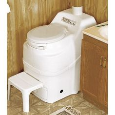 The Excel toilet series optimizes the natural processes of decomposition and evaporation in a fully self-contained unit small enough to fit in a camper or cabin.