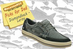 For the dad who loves sailing: Life goes sailing along wearing the SKECHERS Relaxed Fit: Diamondback - Leroy shoe. SKECHERS.com