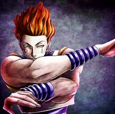 Hisoka/ one of my favorite characters/ love his creepy personality :D