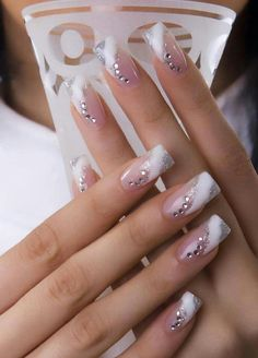 Love this! +Nail strengthening tip: clear nail polish + 1 glove of garlic finely chopped...let garlic and polish sit for a week then add 1 - 2 coats per day for a week. Then remove and start again to apply each day.