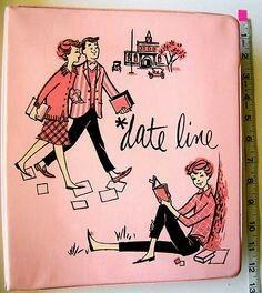 Viny date line by Ponytail 3 Ring School Binder RARE Vtg Vintage School, Vintage Girls, Vintage Love, Vintage Children, Vintage Pink, Vintage Stuff, Vintage Ponytail, Doodle Books, Vintage Records