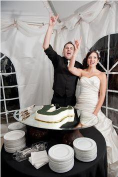 A #USF groom's cake!