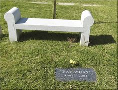 "FAY WRAY'S GRAVE  (the actress who starred in 1933's ""King Kong"")"