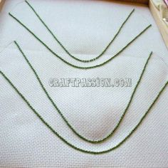 Continue from Part 1: Preparing The Frame & Canvas After having your frame and canvas prepared, shoes-face traced out, the next step is to sew a stretch of beads along the shoes-face outline like the