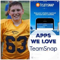 Apps We Love TeamSnap -- get all your team sports organized. Stay up to date with practice and game schedules as well as rosters and more!