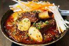 Korean beef short rib kimchee stew (jjigae)