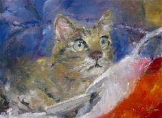 Koji   oil on canvas paper   8.75x12   ©Joshua Lance