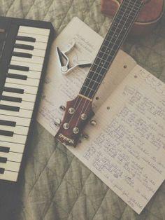 音楽とノートは魅了何か