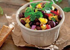 salata de fasole neagra Baby Food Recipes, Fruit Salad, Acai Bowl, Breakfast, Salads, Recipes For Baby Food, Acai Berry Bowl, Morning Coffee, Fruit Salads