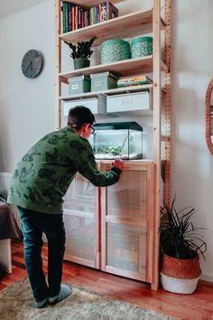 seria ivar ikea Ikea Nursery, Kura Bed, Ikea Furniture, Ikea Hack, Loft, Desk, Home Decor, Desktop, Decoration Home