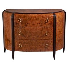 Michel Dufet Commode / Chest Of Drawers / Dresser - Cabinet French Ormolu, Mahogany Art Deco Furniture, Living Furniture, Fine Furniture, Vintage Furniture, Furniture Design, Furniture Storage, Dresser Drawers, Chest Of Drawers, Art Et Architecture