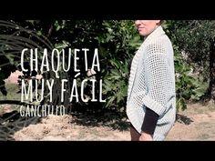 Tutorial Chaqueta Muy Fácil y Rápida Ganchillo | Crochet
