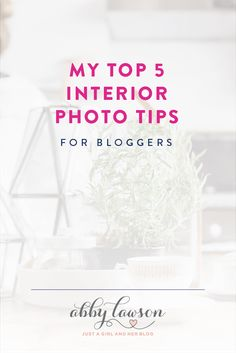 These photography tips are so helpful! I've always wondered how bloggers get their interior photos so bright, crisp and clear, and now I know how! Click through to the post to read all of her tips and tricks!