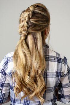 3 Fall Hairstyles   Missy Sue   Bloglovin'