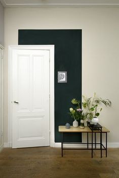 kleurvlak om de deur (idee van HISTOR)