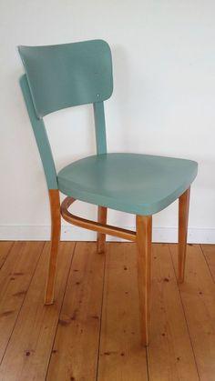 Déco Salon  Chaise bistrot Thonet vintage années 50